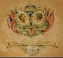 Plate coronation King George VI of the U K