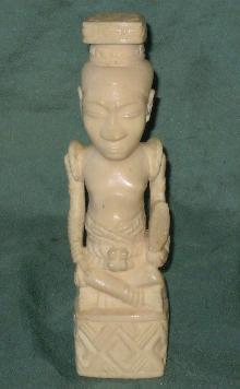 Ivory statue  Mushenge Kuba Ndop