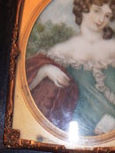 Miniature painting of a Lady