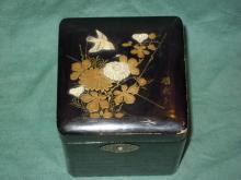 Japanese lacquerware tea  box