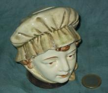 Vintage bank Head of a Woman