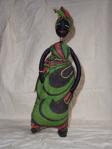 Doll from Gambia