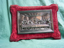 Silver plated Last Supper