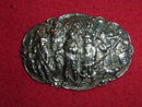 Silver brooch with the Night Watch
