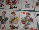 2 sets very small old Piatnik patience cards