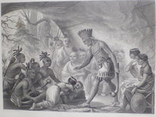 St. engraving Capt Smith rescued by Pocahontas