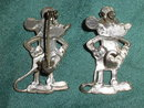 2 vintage Mickey Mouse Pin Brooches