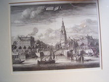 18th century copper engraving Amsterdam