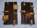 Pair of  Bezique or Whist Counters