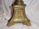 Vintage catholic church candle holder