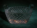 Antique crystal  salt cellar
