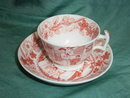 19th  century cup and saucer China inspired