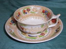 19th  century Dawson's cup and saucer
