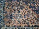 Old persian rug.
