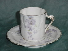 Sevres Mocca Cup and Saucer