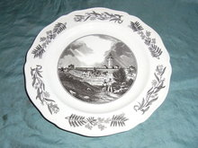 Wedgwood plate about Sydney