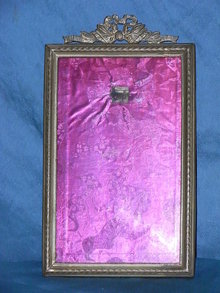 Antique brass picture / photograph frame