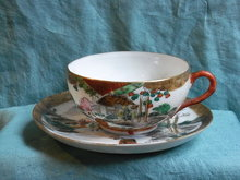 Japanese hand painted  tea cup