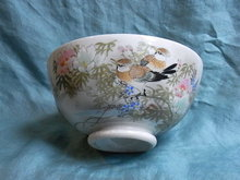 Hand painted japanese cooky bowl