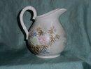 Hand painted japanese milk jug