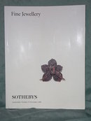 Sotheby's catalog Fine Jewelry