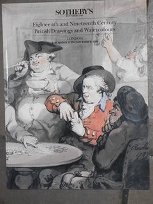 Sotheby's Catalog   Eighteenth and Nineteenth Century  Brittish Drawings and Watercolours