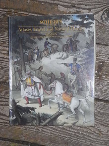 Sotheby's Catalog,  Atlases, Travel and Natural History