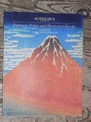 Sotheby's Catalog, Japanese Prints and Illustrated Books