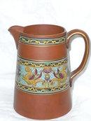 Victorian  Terracotta Jug