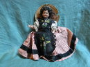 Celluloid doll in french costume