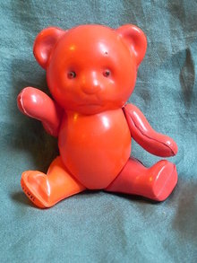 Celluloid teddy bear marked Japan