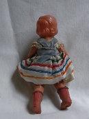 Vintage celluloid doll girl