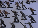 Antique tin soldiers
