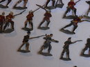 75 antique tin soldiers