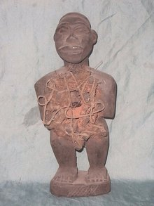 Bakongo statue