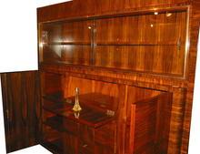French Art Deco Parquetry Design Vitrine