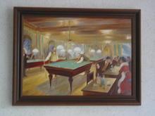 "Copy of Salvador Dali's ""Billiard"""