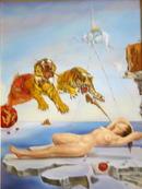 "Copy of Salvador Dali's ""Flight of a Bee Around"
