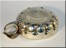 Heavy Antique French Silver Wine Taster / Tastevin 1885
