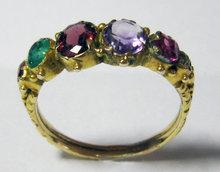 A Victorian REGARD Ring. Circa 1890