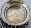William Comyns Antique English Silver Sugar Basket 1903