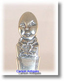 Antique Silver Humpty Dumpty Spoon 1913