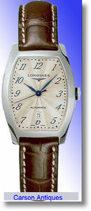 LONGINES Ladies Automatic Evidenza Strap Watch