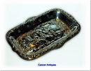 Romantic English Scene Silver Pin Tray