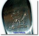 Old English Silver Straining Spoon by Thomas Chawner 1774