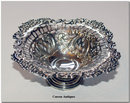 Antique English Victorian Silver Bon Bon Dish 1895