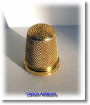 Charles Horner 9k Gold Thimble  1926