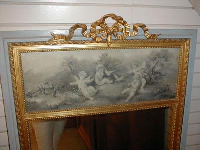 French Trumeau Mirror
