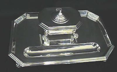 Silver Ink Stand