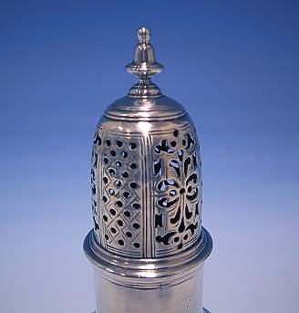 Antique Silver Sugar Castor